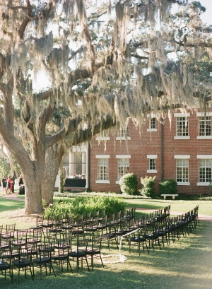 Outdoor Florida Wedding Reception