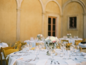 Outdoor Villa Reception from Diana Marie Photography