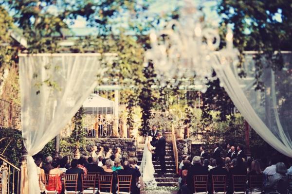 Outdoor Vintage Style Maui Wedding