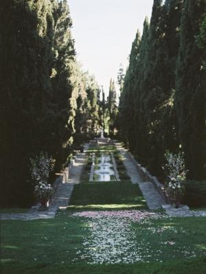 Outdoor Wedding Ceremony in California