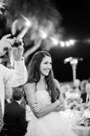 Outdoor Wedding Under Lights