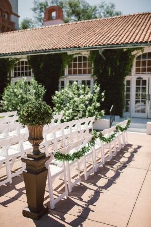 Outdoor Wedding at Ravisloe Country Club