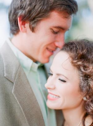 Pastel Attire for Engagement Photos