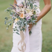 Pastel Floral and Greenery Bouquet