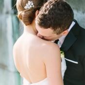 Pearl and Stone Bridal Hair Pin