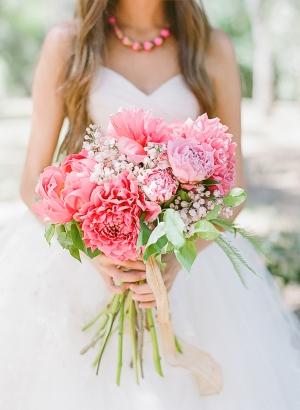 Pink Garden Style Bouquet