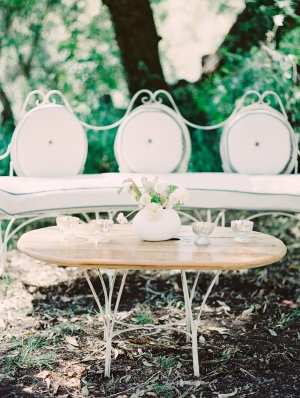 Pretty Outdoor Seating Area