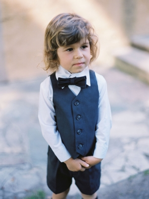 Ring Bearer Vest and Bow Tie