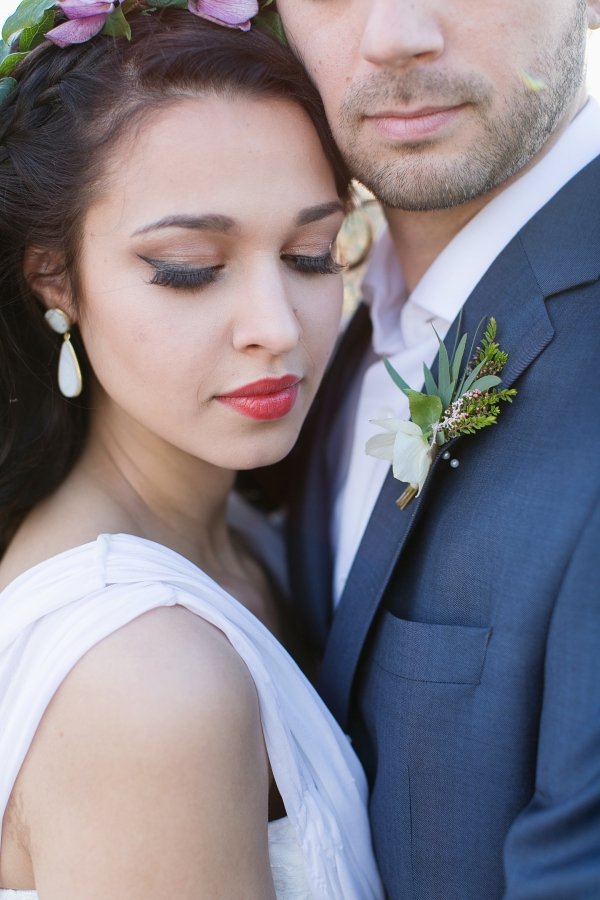 Romantic Exotic Bridal Makeup Ideas