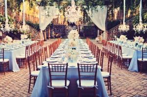 Romantic Outdoor Reception Ideas