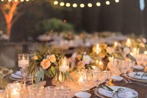 Romantic Reception Table Decor
