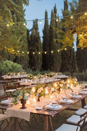 Romantic Reception in Italian Countryside