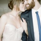Romantic Silk Bridal Gown