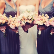 Rose and Peony Bouquets