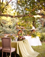 Rustic Elegant Wedding Tabletop