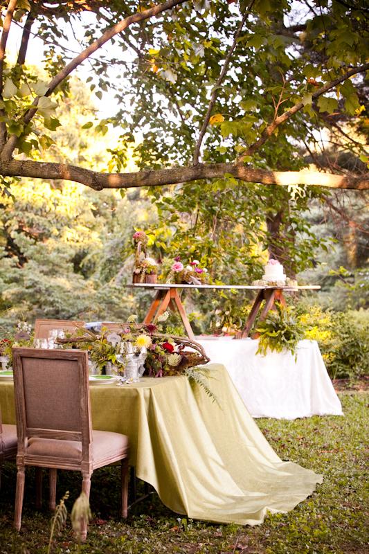 Rustic Elegant Wedding Tabletop