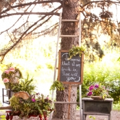 Rustic Whimsical Wedding Details