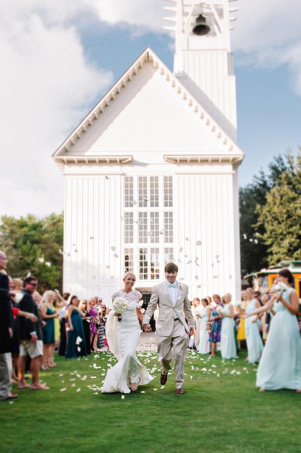 Chic Seaside Chapel Wedding From Dear Wesleyann
