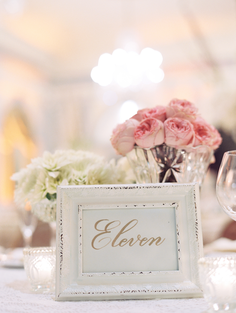 Shabby Chic Frame Table Number - Elizabeth Anne Designs: The Wedding ...