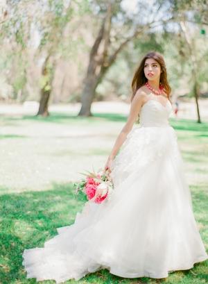 Strapless Ballerina Wedding Dress