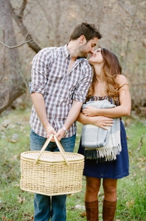 Sweetheart Picnic Engagement