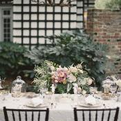 Vintage Style Garden Tablescape