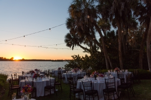 Waterfront Reception in Florida