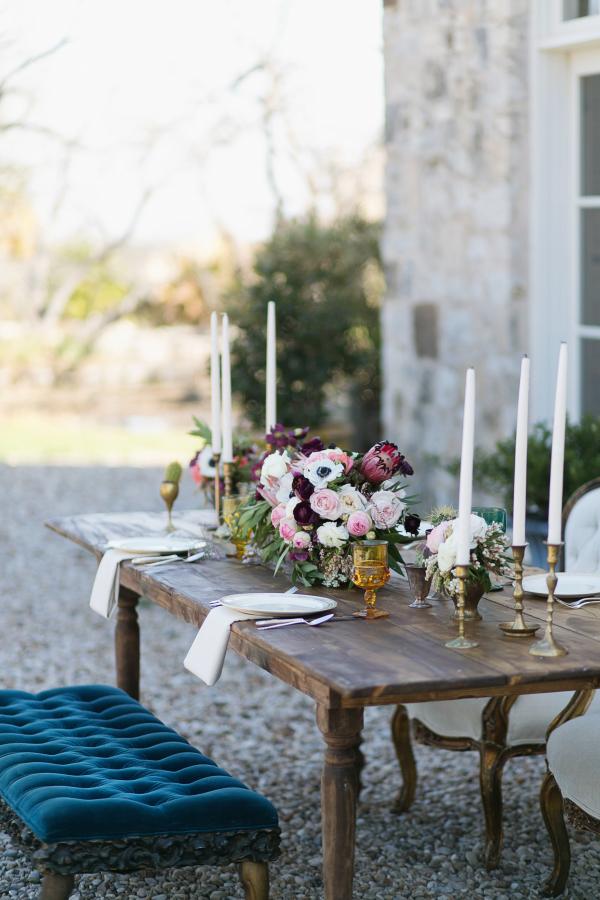 Wedding Table Bench Seating