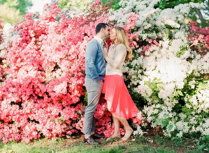 Spring Engagement in Central Park