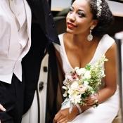 Art Deco Inspired Bridal Attire