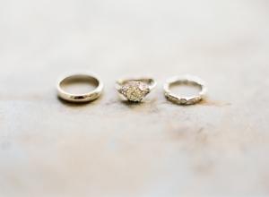 Art Deco Platinum Wedding Rings