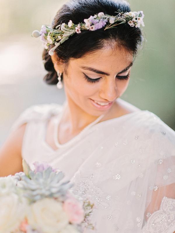 Beaded Lace Sari