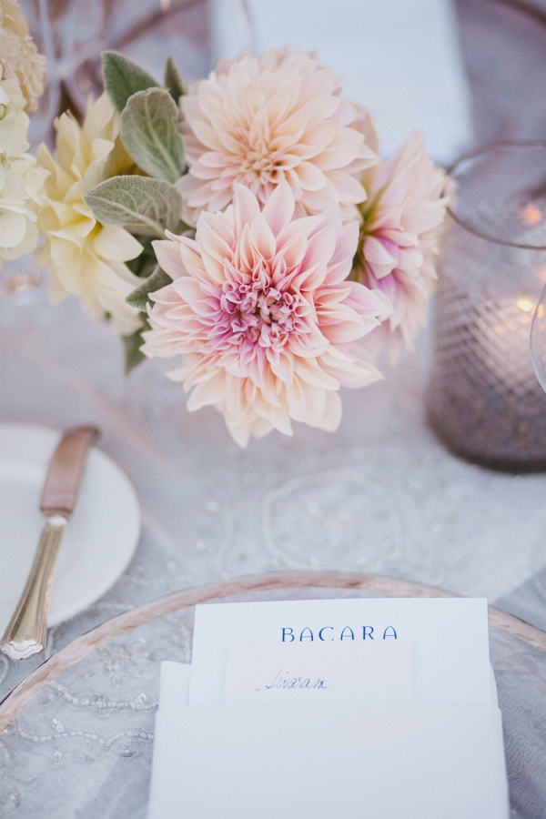 Blush Dahlias