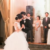 Bride and Groom Ballroom Dance