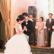 Bride and Groom Ballroom Dance