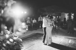 Bride and Groom Dancing Italian Destination Wedding