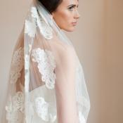 Bride in Veil with Bun