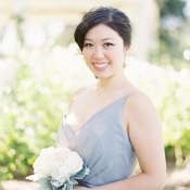 Bridesmaid in Pale Blue
