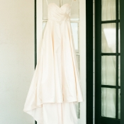 Classic Strapless Bridal Gown1