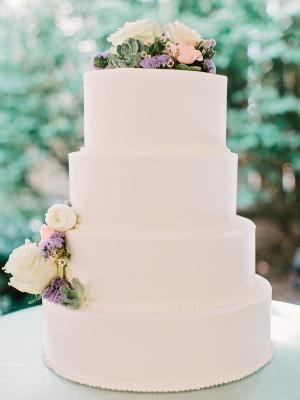 Classic Tiered Wedding Cake