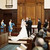 College Campus Wedding Ceremony