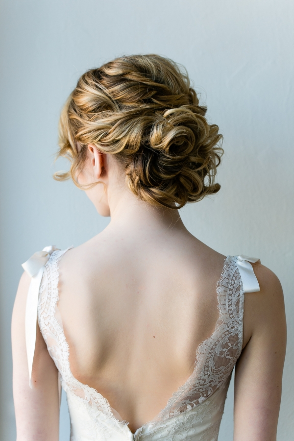 Elaborate Bridal Updo Hair Ideas