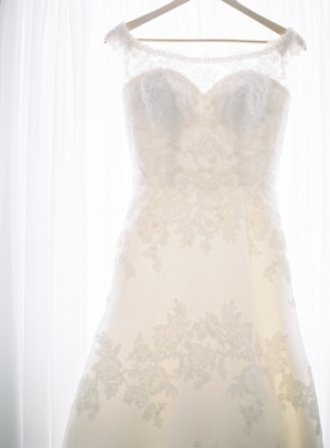 Embroidered Lace Bridal Gown