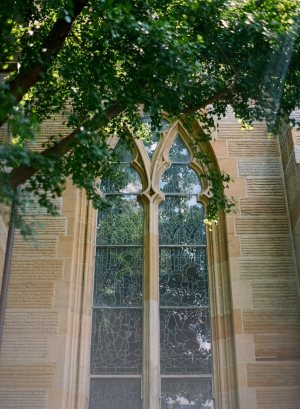 Etched Glass Church Windows