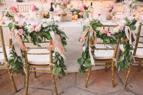 Flower Chair Garlands
