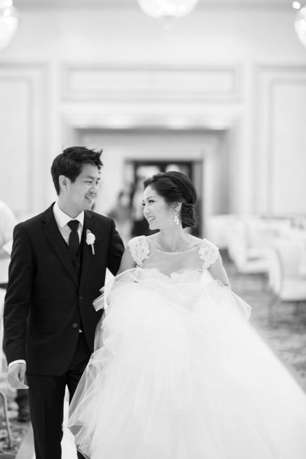 Gorgeous Fluffy Wedding Gown