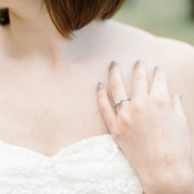 Gray Manicure Bridal Ideas
