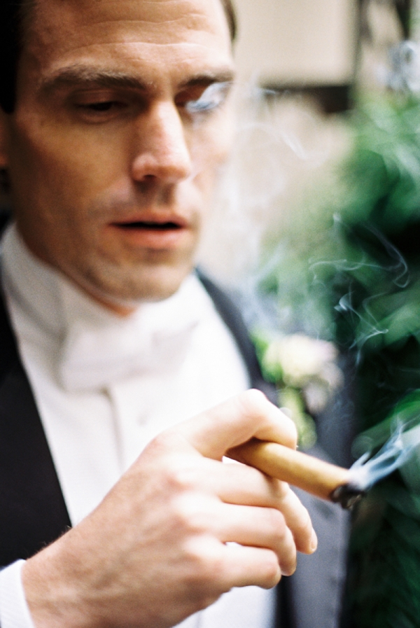 Groom and Cigar