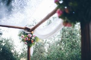 Handmade Chuppah Jewish Wedding Details