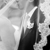 Kissing Under Veil
